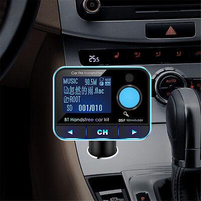 2016 Wireless Bluetooth FM Transmitter MP3 Player Car Kit Audio USB Charger