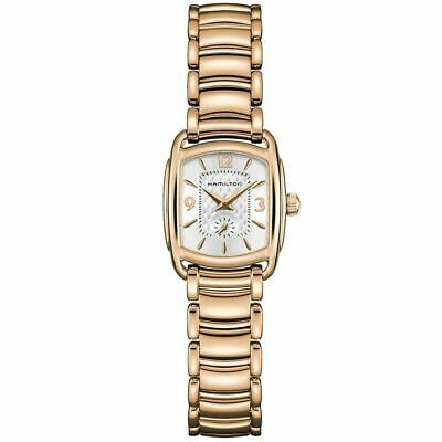 Hamilton Women's H12341155 Bagley 23mm Silver Dial Stainless Steel Watch