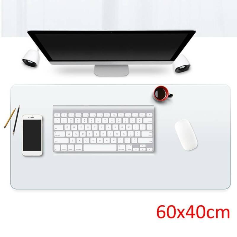 60x40cm Schreibtischunterlage transparent Schreibunterlage Auflage abwischbar