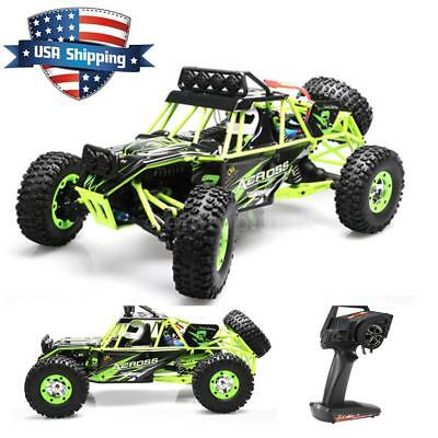 2018 Wltoys 12428 1/12 2.4G 4WD Electric Brushed Crawler RTR RC Car Xmas Gift
