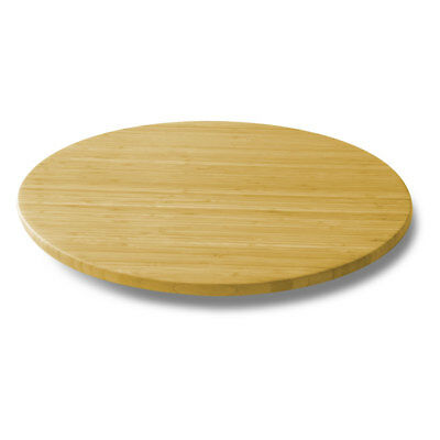 21-Inch Bamboo Lazy Susan Turntable Bamboo Lazy Susan