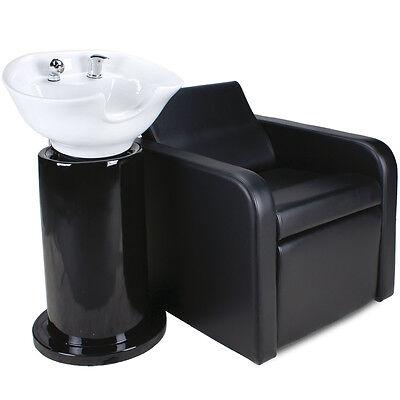Friseurwaschsessel Friseur Waschplatz Friseurstuhl Elektrische Fußstütze