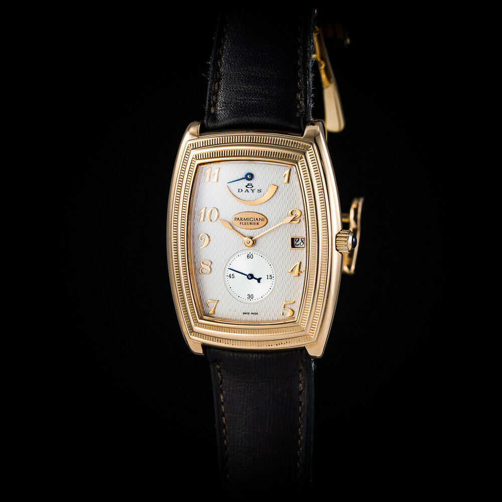 """Parmigiani 18K Rose Gold""""Ionica"""" 8 Days Power Reserve. In-house movement. Mint - watch picture 1"""