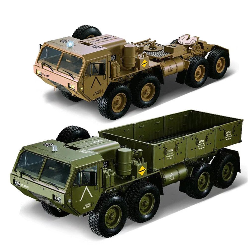 HG P801 P802 1/12 2.4G 8X8 M983 739mm Rc Car US Army Militar