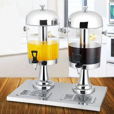 8l2 Frozen Cold Drink Beverage Milk Juice Dispenser Machine Stainless Steel