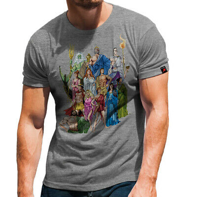 Griechische Götter Hades Zeus Poseidon Athena Ares Hera T Shirt #31540 ()