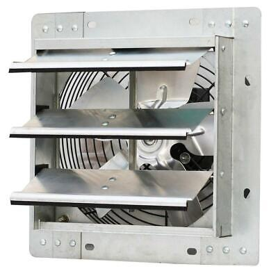 Shutter Exhaust Fan 600 Cfm 10 In. Variable Speed Commercial Greenhouse Heat New