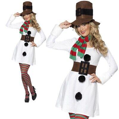 Weihnachts Schneemann Kostüm Damen Sexy Weihnachten Kostüm Damen - Schneemann Kostüm Damen