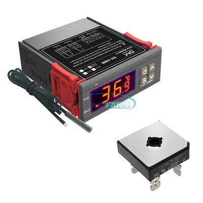 110-220v Stc-1000 Temperature Controller Temp Sensor Thermostat Control Digital