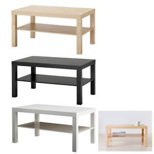 Ikea lack mesa auxiliar centro o rincon salon 90x55cm - Mesa tv ikea lack ...