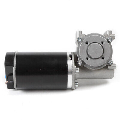 Dc 24v 60w Worm Gear Reducer Gearbox Electric Gear Motor High Torque 60w-250rpm