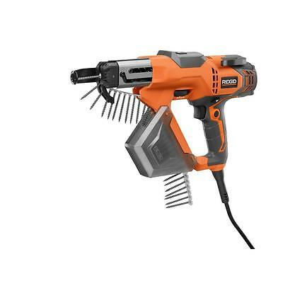Ridgid 3 In. Drywall And Deck Collated Screwdriver Corded Screw Tool - R6791