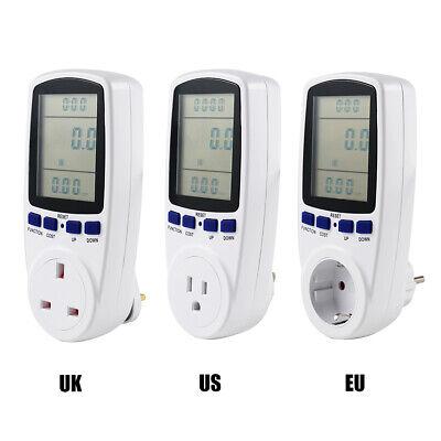 Ac Electricity Power Meter Analyzer Monitor Socket Voltage Analyzer Wattmeter