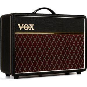vox ac10 c1 1x10 10 watt tube combo guitar amplifier top boost reverb ac10c1 ebay. Black Bedroom Furniture Sets. Home Design Ideas