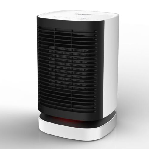 Portable Electric Ceramic Space Heater Super Quiet Design Auto Oscillation Heat