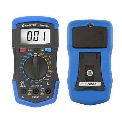 Multimeter Lcd Digital Hfe Test Resistance Capacitance Inductance Lcr Meter
