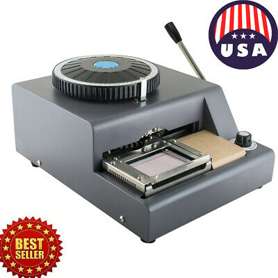 Sale Pvc Card Embosser Embossing Machine Stamping Credit Id Embossing Machine