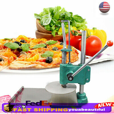 9.5 Household Manual Pastry Press Machine Pizza Dough Maker Stainless Steel New