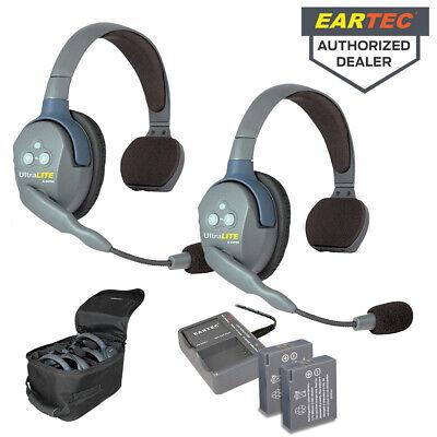 Eartec UltraLITE Full Duplex Wireless Headset Communication System