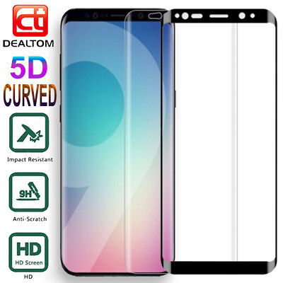 Full Cover Tempered Glass Screen Protector For Samsung Galaxy S7 Edge S9 S8 Plus