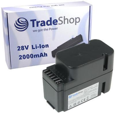 Trade-Shop AKKU 28V 2000mAh Li-Ion für Worx Landroid M800 WG790E WG794E WG794EDC