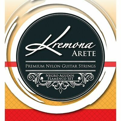 Kremona Arete Premium Nylon Guitar Strings Negro Agudo Flamenco String (Flamenco String Set)