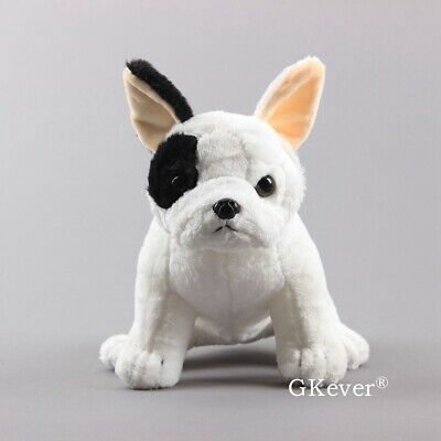 French Bulldog Plush Doll Squatting Dog Simulation Animal Stuffed Toy Kids Gift ()