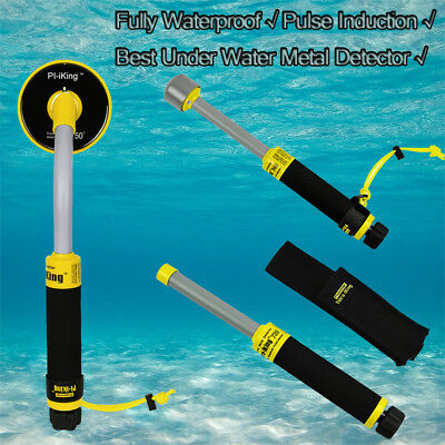 Best 30M Underwater PI Metal Detector Gold Fully Waterproof Pinpointer For