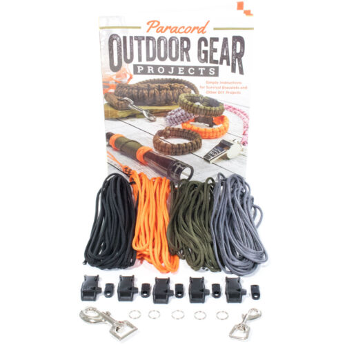 Paracord Outdoor Gear DIY Craft Book and Crafting Kit