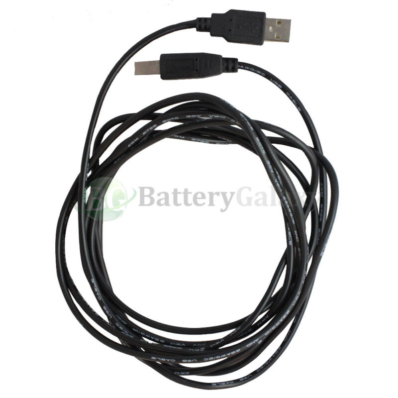 For HP CANON DELL BROTHER PRINTER SCANNER CABLE CORD USB 2.0 A-B 6FT