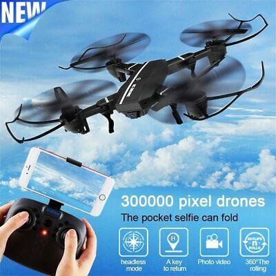 8807 Mini Wireless Wifi RC Quadcopter W/ 0.3MP Camera Foldable 6-Axle Drone Toy