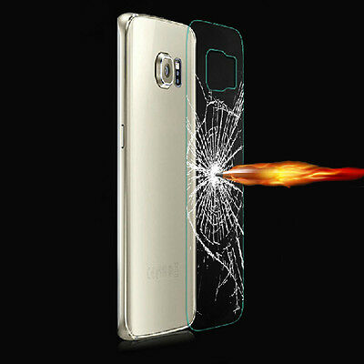 Fashion 9H Tempered Glass Film Back Protector for Samsung Galaxy S6 Edge+Plus