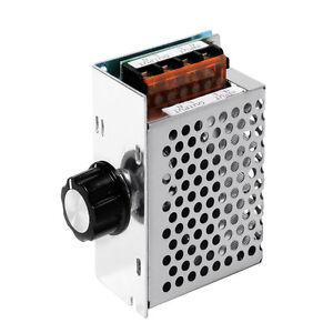 4000W AC220V SCR Motor Speed Controller Module Voltage Regulator Dimmer TE474