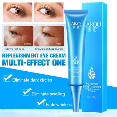Eye Cream Gel For Dark Circles Puffiness Wrinkles Most Effective Anti-Aging mt