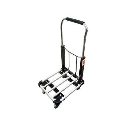 330 Lb Cap Aluminum Folding Platform Cart 16x27 Foldable Hand Truck