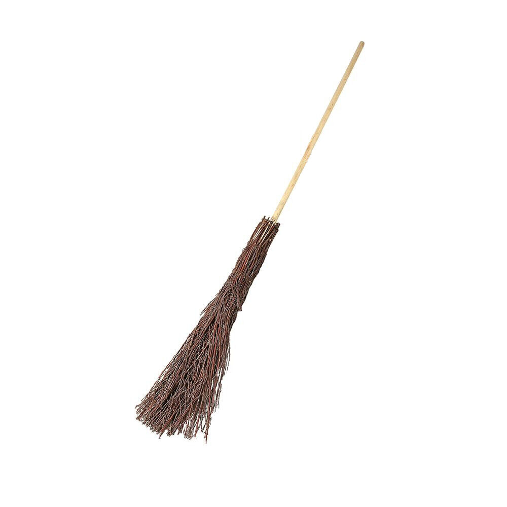 140cm Besom Broom Witches Broomstick Decoration for Halloween Theater Movie 369