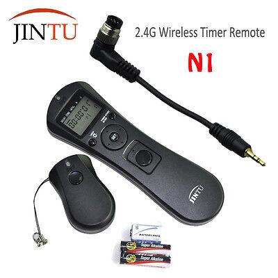 JINTU Selfie Timer Remote Control Shutter Release for Nikon D810/D2X/D2Xs/D3/D3S