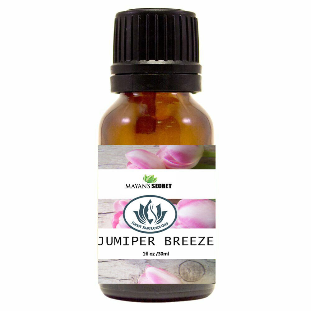 Mayan's Secret- Juniper Breeze- Premium Grade Fragrance Oil (30ml) Candle Making & Soap Making