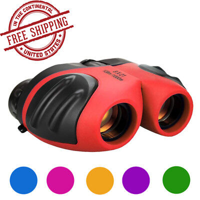 Best Gift Toys for 3-12 Year Old Boys Compact Binoculars for Kids Christmas