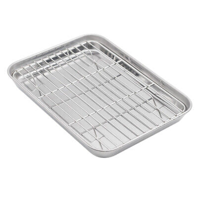 Aspire Baking Sheet with Rack Set, Stainless Steel Cookie Sh
