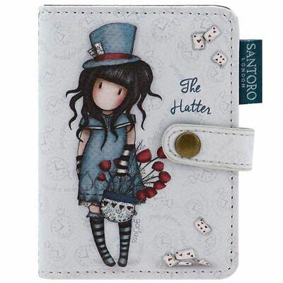 Santoro Gorjuss Card Holder - The Hatter