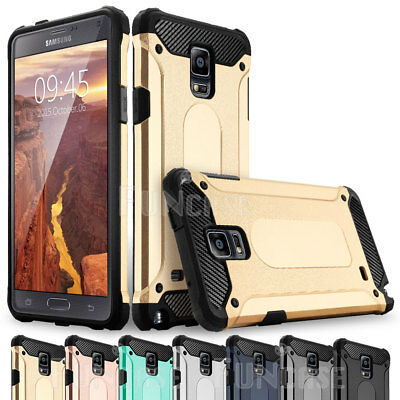 Rugged Silicone - For Samsung Galaxy Note 9 3 4 Rugged Silicone Rubber Shockproof Armor Case Cover