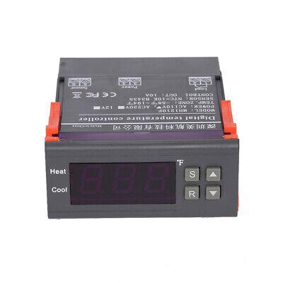 Digital Temperature Controller Temp Sensor Thermostat Control -58194f