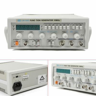 Lw-1643 Wave Digital Function Signal Generator 0.1hz-10mhz Frequency 220v Usa