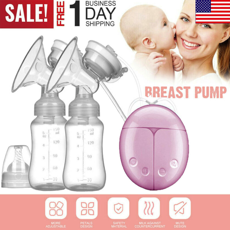 Electric Hand Free Double Breast Pump Automatic Intelligent