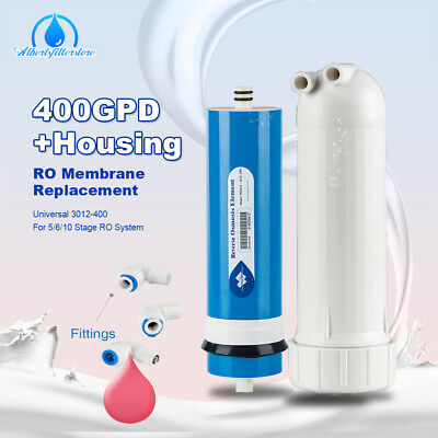 (TOP 400 GPD RO Reverse Osmosis Membrane Water Filter With Fittings Purifier Set )