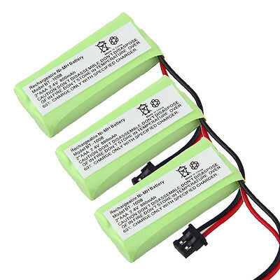 3x new Battery For UNIDEN DECT 6.0 1.9GHZ BT-1008 BT1008 2080-3 BT-1016 BT1016