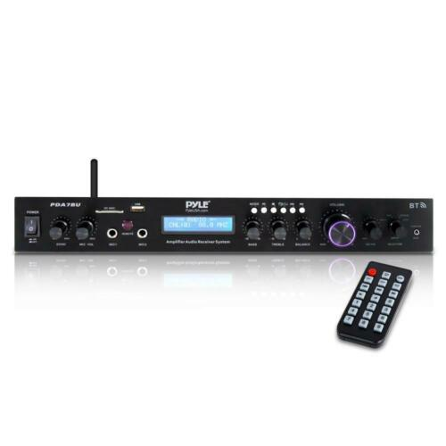 Home Theater Amplifier Audio Receiver Sound System w/Bluetooth Wireless Streming