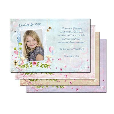 1 x Kindergeburtstag Karte personalisierte Einladung + Kuvert ()