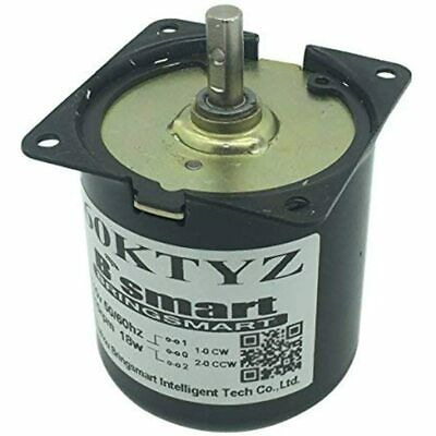 Bringsmart 60ktyz 10rpm Ac Motor Low Noise Gearbox Electric Barbecue High Torque